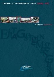 Creare e trasmettere file Adobe Pdf - Galeati