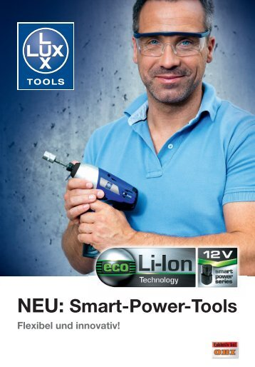 NEU: Smart-Power-Tools - Lux