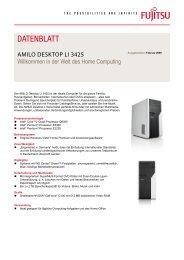 Datenblatt AMILO Desktop Li 3425 - Fujitsu
