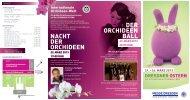 Nacht der OrchIdeeN der OrchIdeeN Ball - Messe Dresden