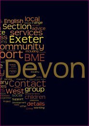 BME Service Directory - Devon County Council