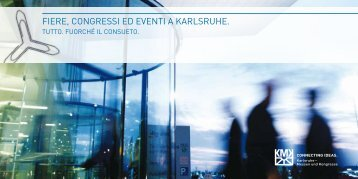 fiere, congressi ed eventi a karlsruhe. - Karlsruher Messe- und ...