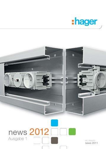 11DE0580 PRO news 1-2012 - Hager