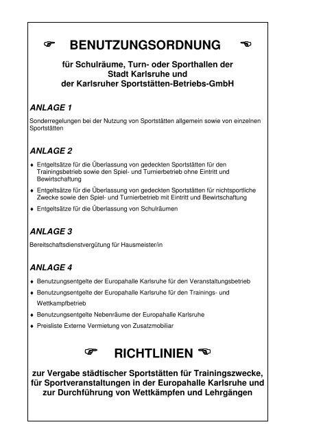 benutzungsordnung - Karlsruher Messe- und Kongress-GmbH