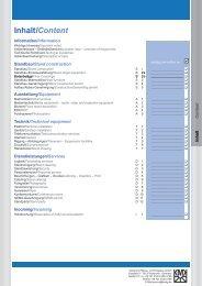 Inhalt/Content - Karlsruher Messe- und Kongress-GmbH