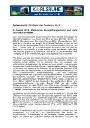 Presseinformation (PDF) - Karlsruher Messe- und Kongress-GmbH