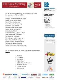Kurzueberblick BW-Bank-Meeting 2009 - 0202