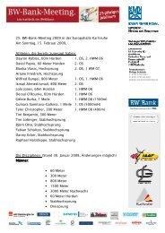 Kurzueberblick BW-Bank-Meeting 2009 - 0502