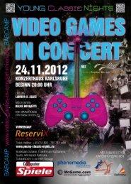 Video Games in Concert (PDF) - Karlsruher Messe- und Kongress ...