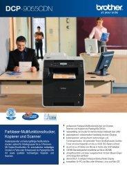 Farblaser-Multifunktionsdrucker, Kopierer und Scanner