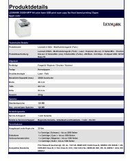 LEXMARK X502N MFP A4 color laser USB print scan copy fax Host ...