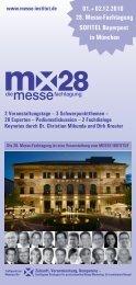 Programmdownload - Messe Institut