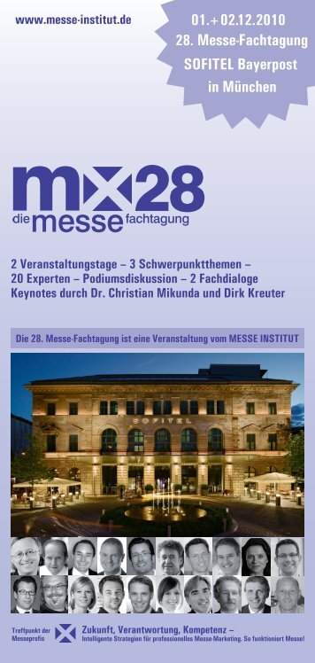 Programmdownload - Messe Institut