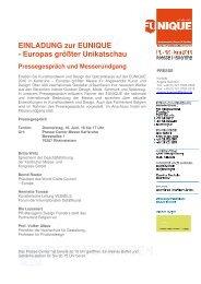 Einladung (PDF) - Karlsruher Messe- und Kongress-GmbH