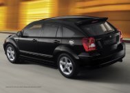 Dodge Caliber SXT in Brilliant Black Metallic; Abbildung zeigt ...