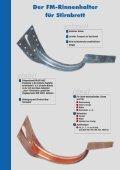 Rinnenhalter für Stirnbrett - Paul J. Messer GmbH - Seite 2