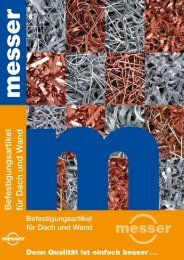 Produktkatalog, Stand Mai 2012 - Paul J. Messer GmbH
