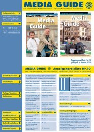 media guide - Messe Treff Verlag
