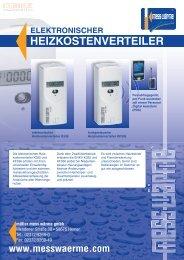 HEIZKOSTENVERTEILER - Müller Mess Wärme GmbH