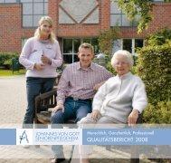 qualitätsbericht 2008 - Johannes von Gott Seniorenpflegeheim Neuss