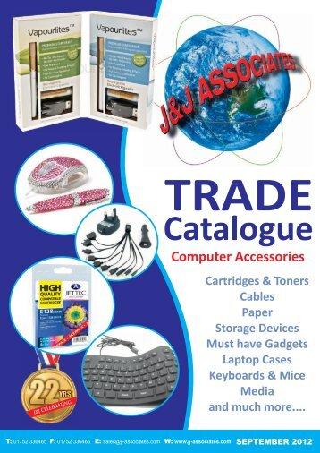 Latest Trade Catalogue - J & J Associates