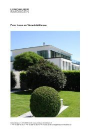 Purer Luxus am Vierwaldstättersee - HOME : Lindauer-Immobilien