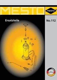 No.112 Ersatzteile - Mesto.de
