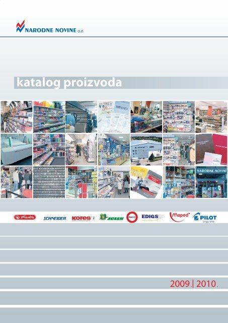 Katalog Proizvoda E Trgovina Narodnih Novina Dd Narodne Novine
