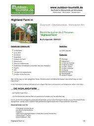Highland Farm in - Outdoor-Touristik