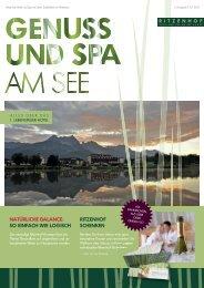 U N i t S PA - Ritzenhof Hotel & Spa am See