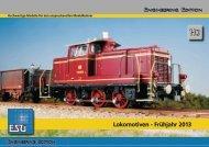 ESU Lokomotiven 2013 Spur H0 - Menzels Lokschuppen