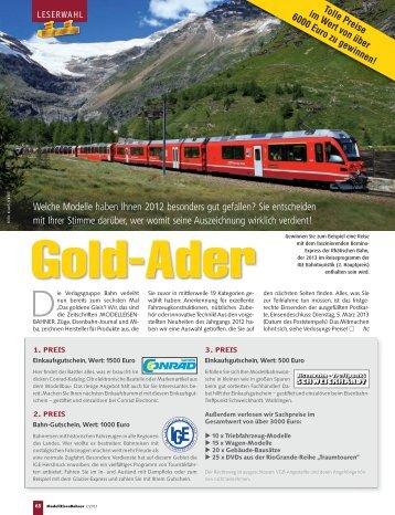 DGG-Modellauswahl - Verlagsgruppe Bahn