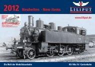 Neuheiten 2012 - Modellbahnstation