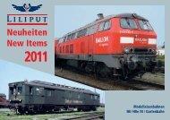 Neuheiten 2011 - Modellbahnstation
