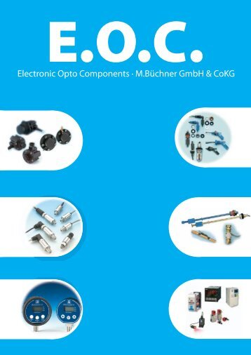 Electronic Opto Components · M.Büchner GmbH ... - m-buechner