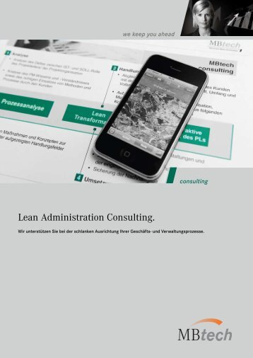 Lean Administration Consulting [PDF] - MBtech Group