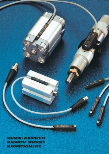 sensori magnetici magnetic sensors magnetschalter - m-buechner