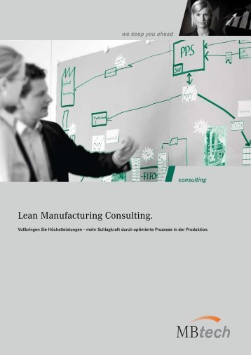 Lean Manufacturing Consulting [PDF] - MBtech Group