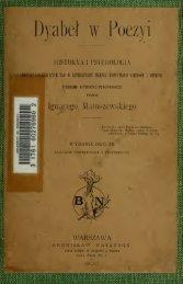 Dyabe w poezyi : historya i psychologia postaci uosabiajcych zo w ...