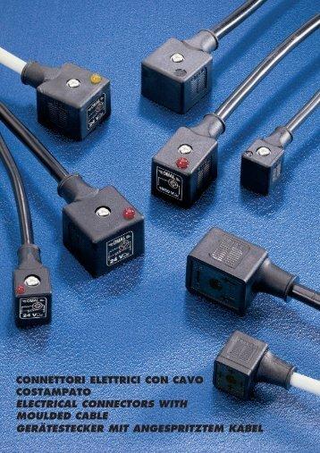 Gerätestecker mit angespritztem Kabel - m-buechner