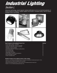 Industrial Lighting - Cooper Electrical