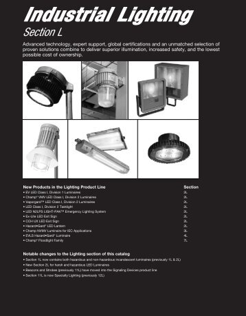 Industrial Lighting - Cooper Electrical
