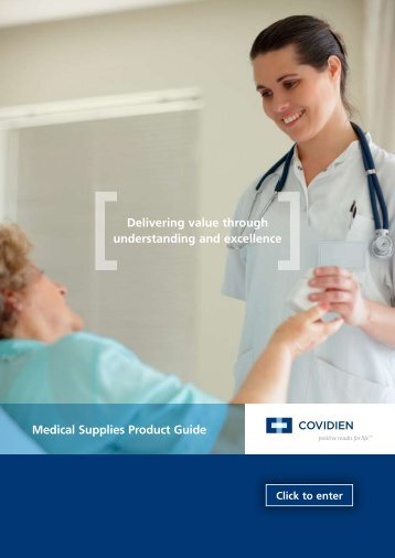 Medical Supplies Product Guide Delivering value through ...