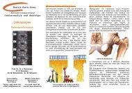 Osteoporose - MVZ Medizin Center  Bonn