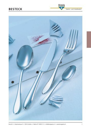 BESTECK - Kreis Gastro- und Hotelbedarf