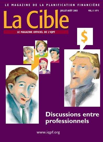 La Cible - Conseiller