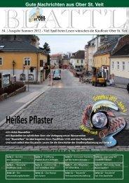 Das Blattl als pdf-Datei zum Herunterladen - Plattform Ober St. Veit