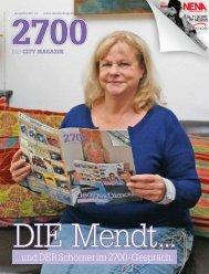 ..und der Schörner im 2700-Gespräch - das City Magazin