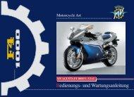Hier klicken, um die Bedienungsanleitung als PDF ... - MV Agusta