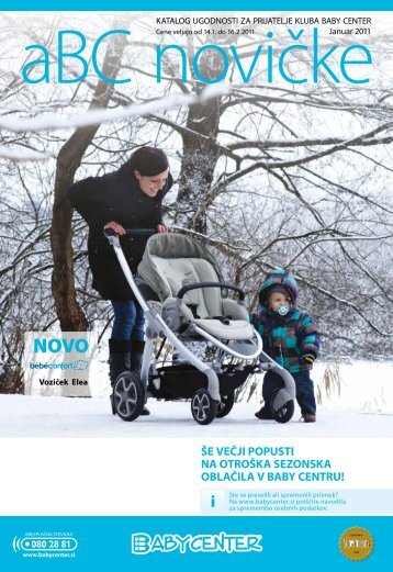 ŚE VEĆJI POPUSTI NA OTROŚKA SEZONSKA ... - Baby Center